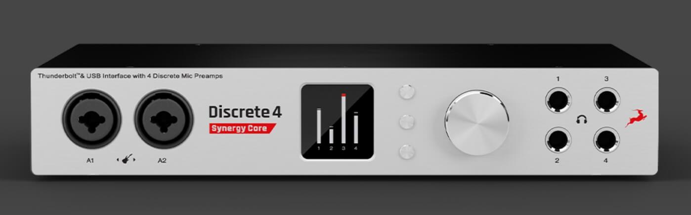 Antelope Audio Discrete4 表面