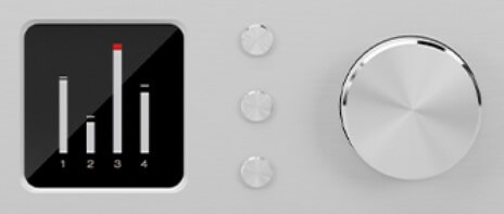 Antelope Audio Discrete4 操作パネル