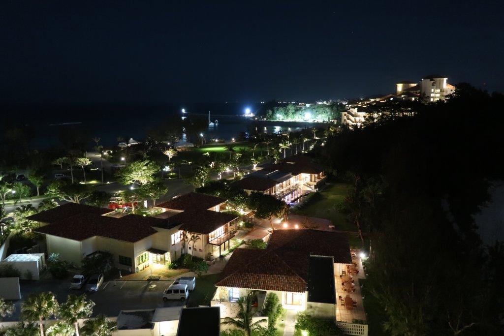 テラスクラブ アット ブセナの夜景
